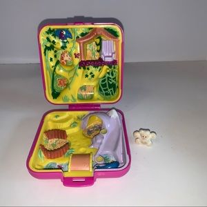 Vintage Polly Pocket Wild Zoo World Compact
